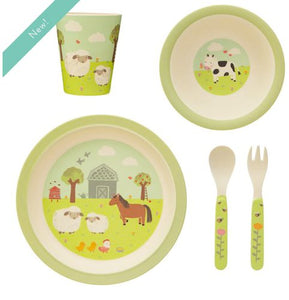 Farmyard Dinner Set Baby Sass and Belle