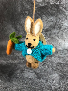Felt Peter Rabbit with Carrot Posters The Northern Line