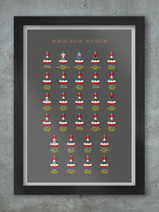 Fergie Time - Manchester United print