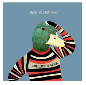 For Ducks Sake Birthday Card - Blank Greeting Card card The Northern Line