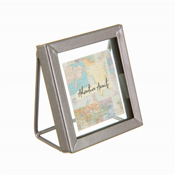 standing graphite photo frame