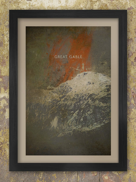 Great Gable Stormbreak - Poster print