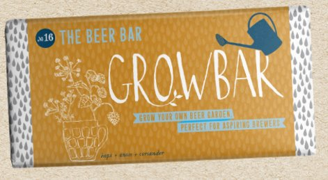 Grow Bar - Grow Your Own Plants traditional gift Grow Bar Beer