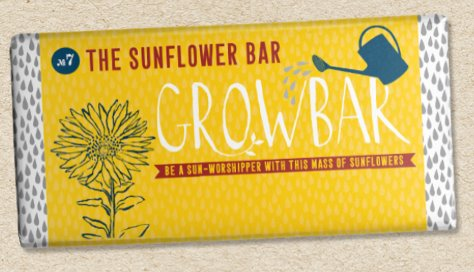 Grow Bar - Grow Your Own Plants traditional gift Grow Bar Sunflower