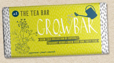 Grow Bar - Grow Your Own Plants traditional gift Grow Bar Tea