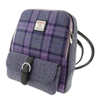 Harris Tweed BackPack traditional gift Harris Tweed