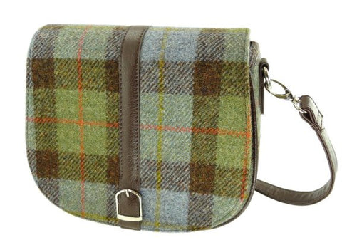 Harris Tweed Beauly Handbag traditional gift Harris Tweed Gunn tartan
