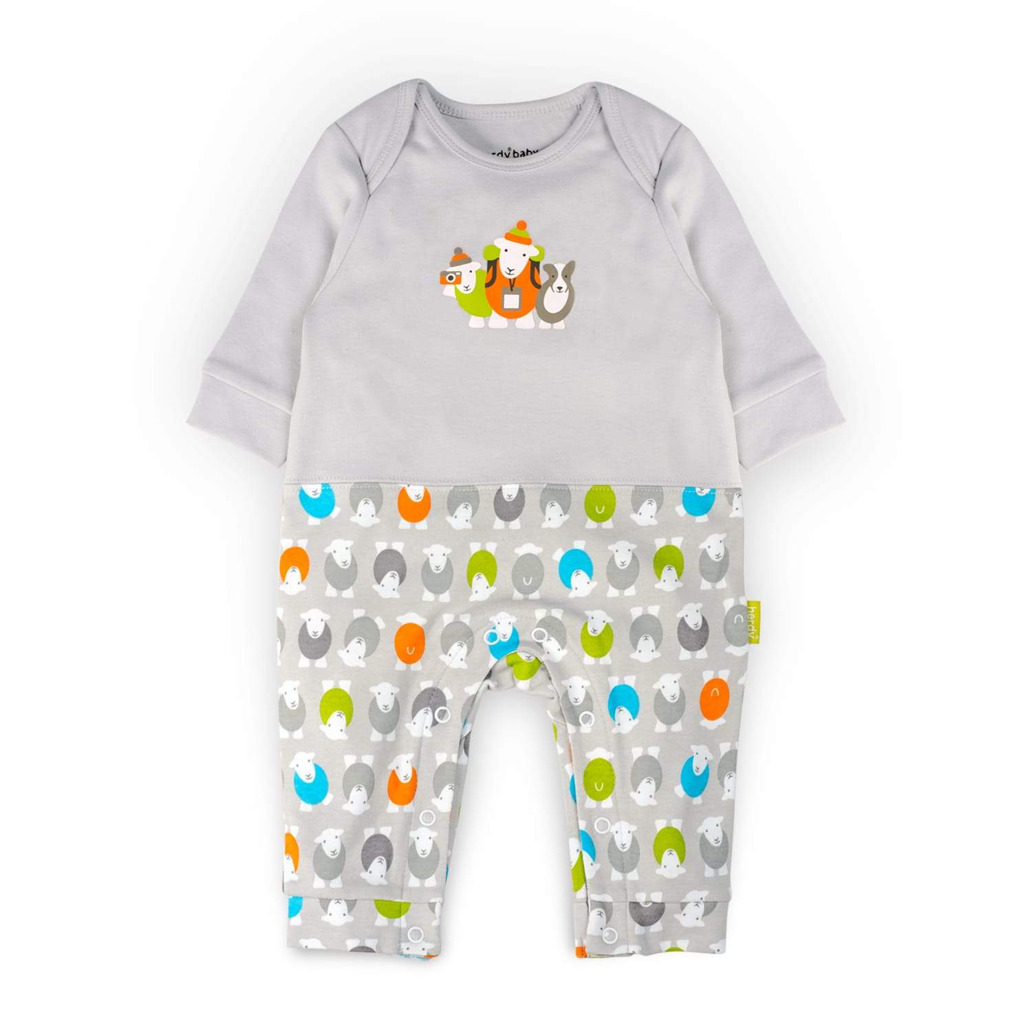 Herdy Hiker Design Sleepsuit