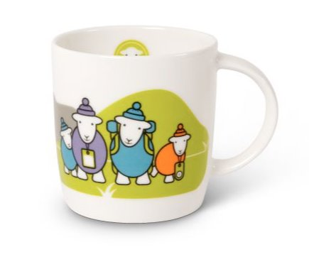 Herdy sheep mug, a lovely gift