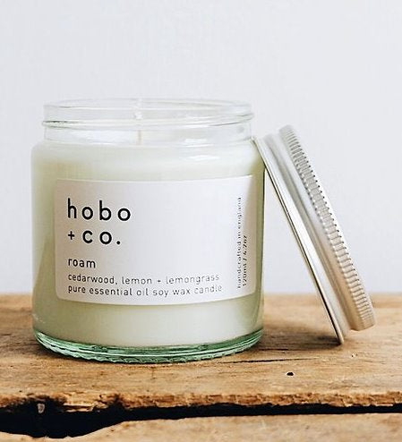 Hobo+Co Hand Poured Essential Oil Candles Gift TNL
