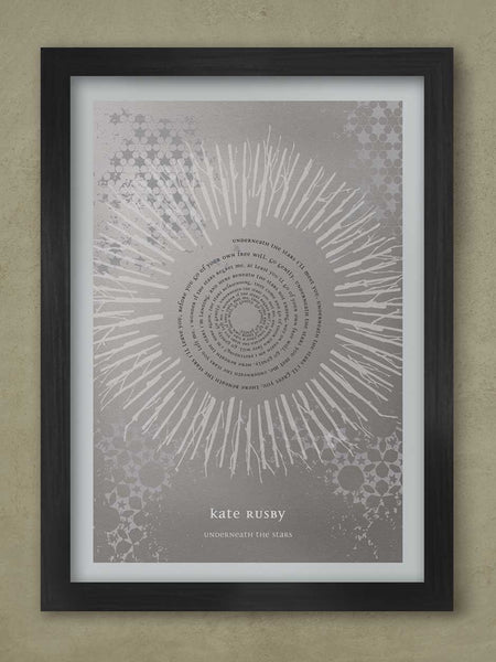 Kate Rusby - Underneath the Stars  Print