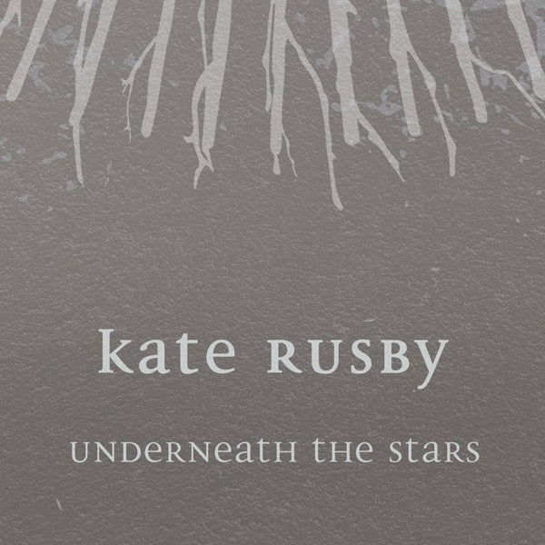 Kate Rusby - Underneath the Stars Poster Print (silver) Posters The Northern Line