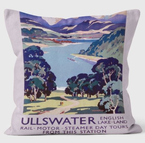 Lake District Cushions classic homeware The Northern Line Ullswater