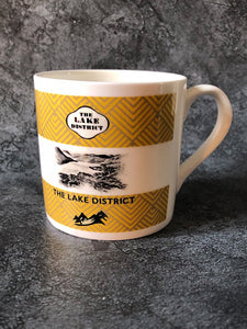 Lake District Mug - Bone China Kitchen and Dining TNL