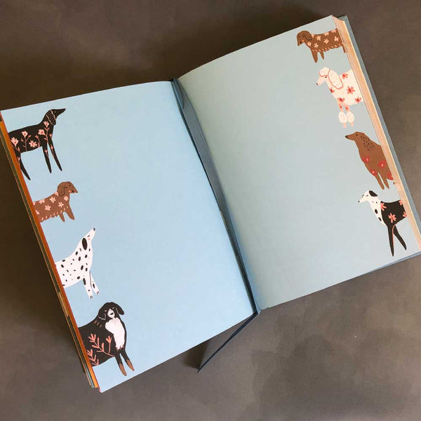 illustrated journal dogs