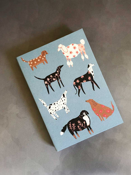 Luxe journal dogs design