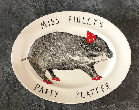 miss piglets party platter