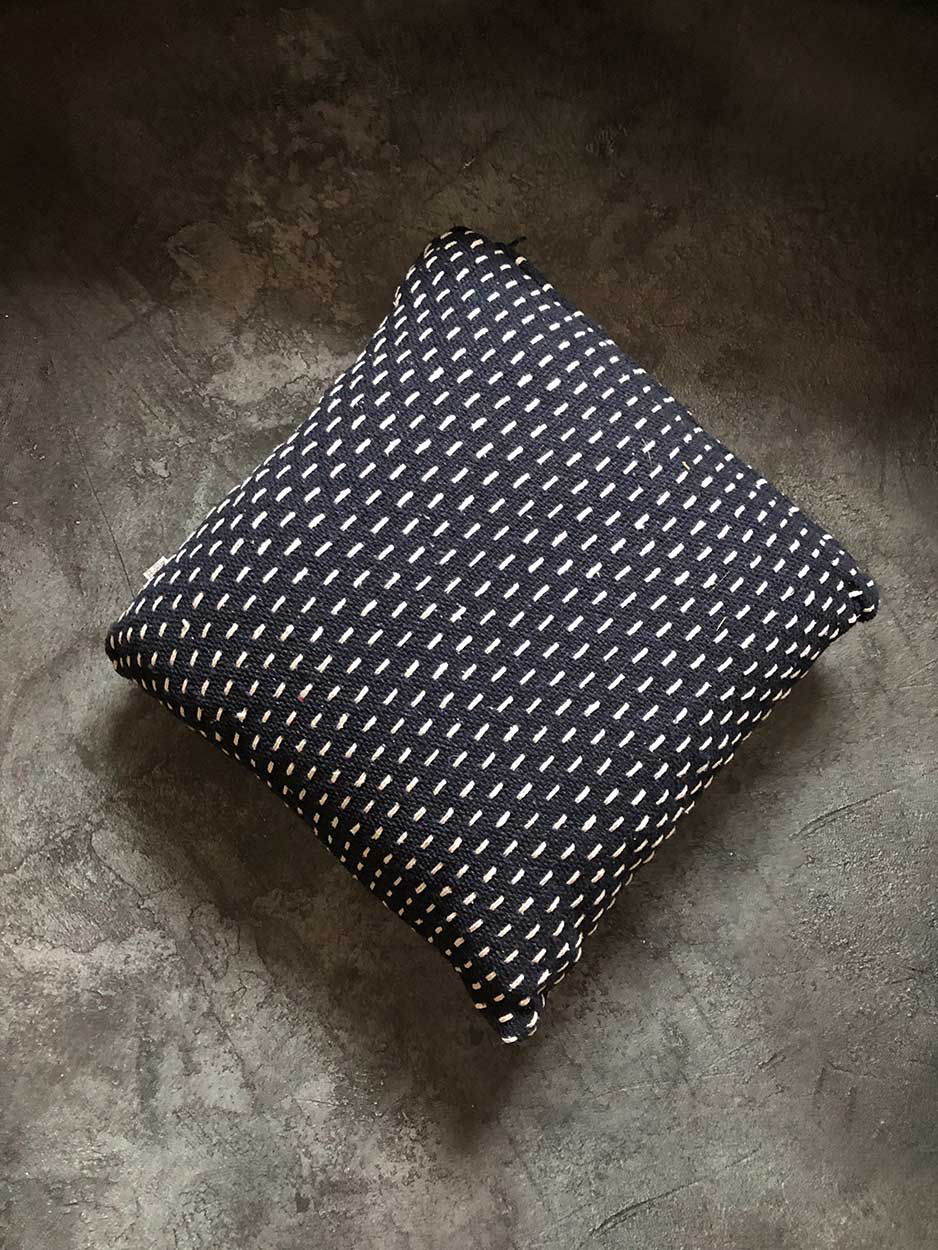 navy cushion