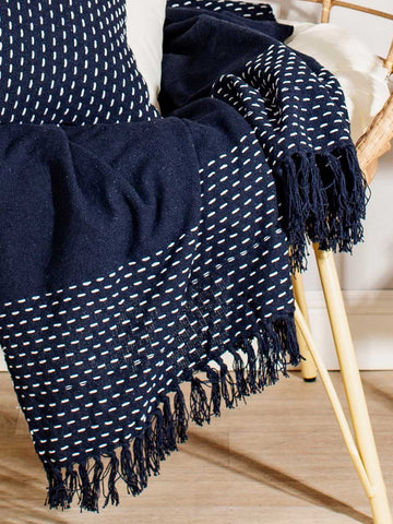 navy throw