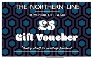 Paper Gift Vouchers The Northern Line £5