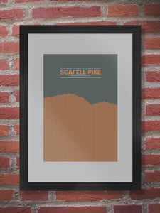 Scafell Pike Poster Print