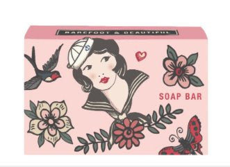 The Bath House - Free Spirit Collection classic homeware The Bath House Wild Rose Soap Bar