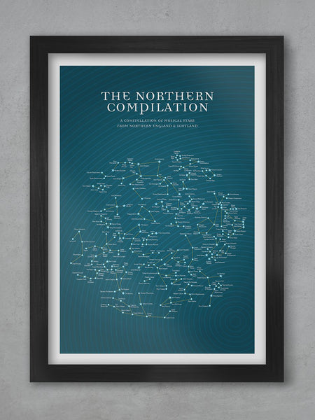 The Northern Compilation - Music Poster Print Posters The Northern Line