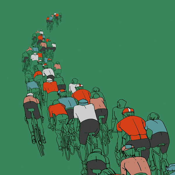 The Peloton - Cycling Poster Print Posters The Northern Line