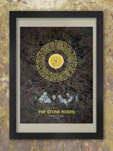 The Stone Roses - Fool's Gold lyric poster