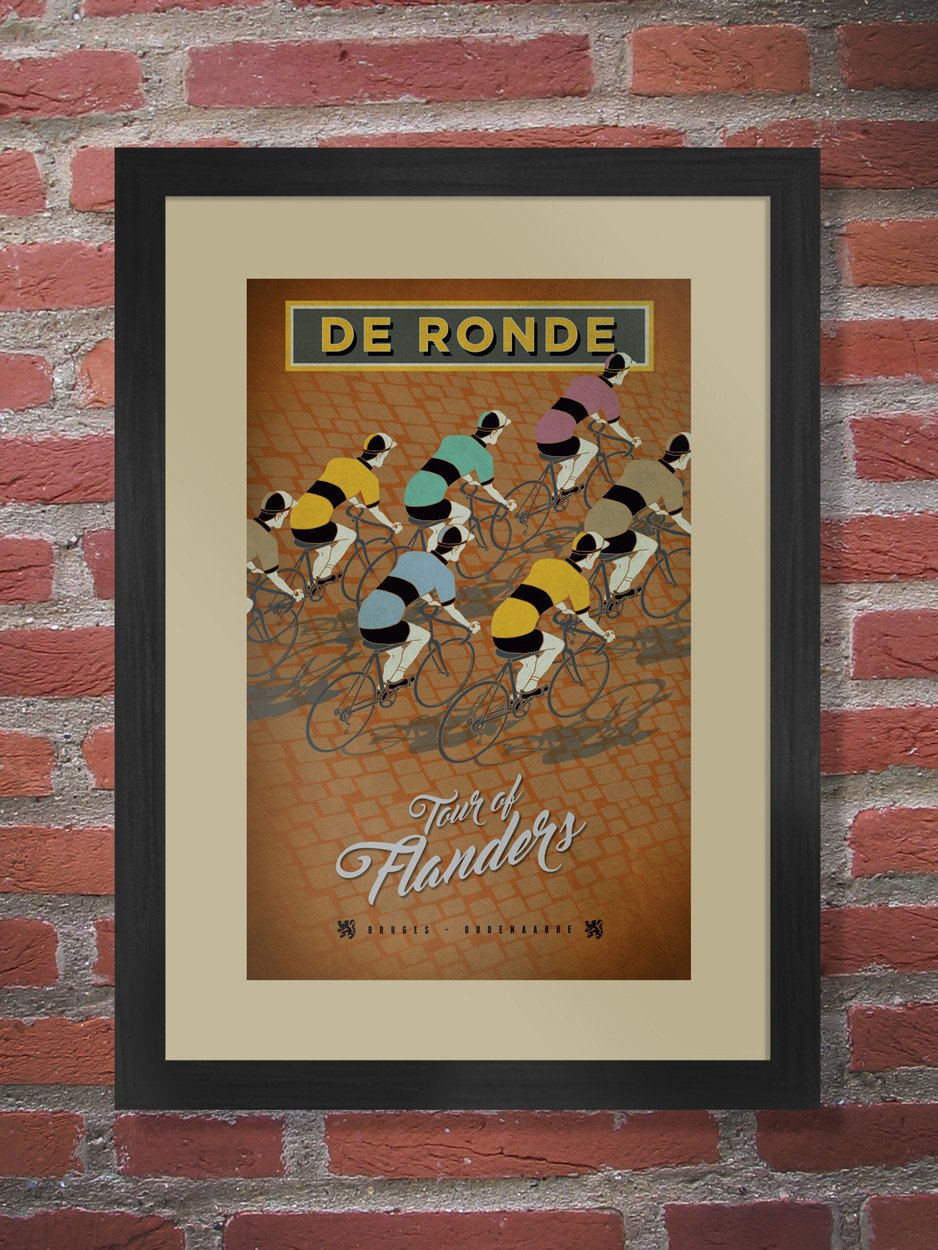 Tour of Flanders Poster Print