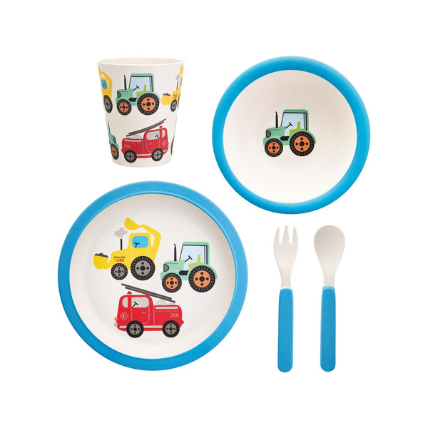 Transport Tableware Set Baby Sass and Belle
