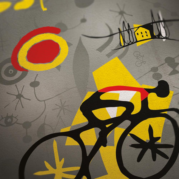 Vuelta a Espana 'Miró' Cycling Poster Posters The Northern Line