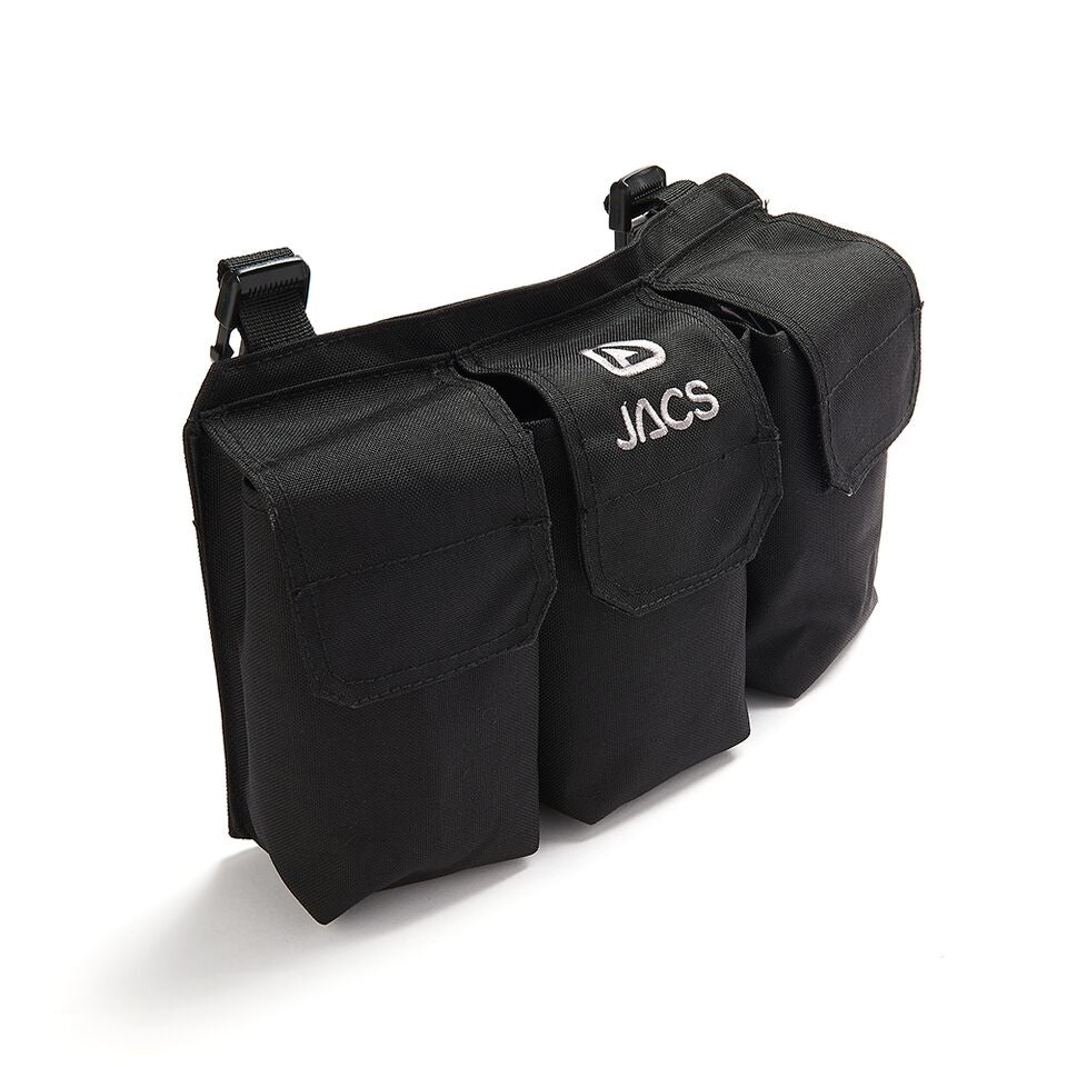 JACS Chest Pouch (Front) in Black