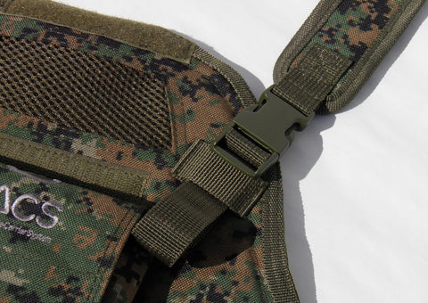 Back Carry Straps - Camo