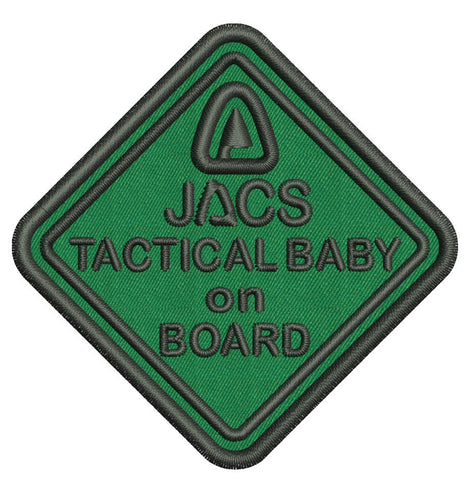 JACS  Embroidered Tactical Patches