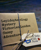 Lepidopterology in London - Blind Date with a Book
