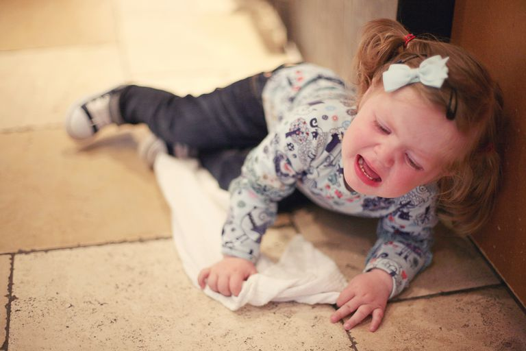Toddler tantrum