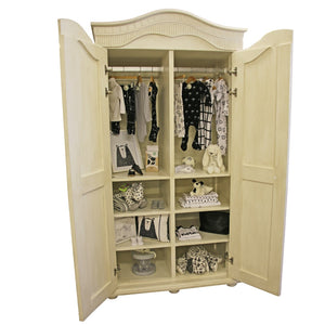 Hand-crafted Grace Armoire - Armoire- Baby Belle