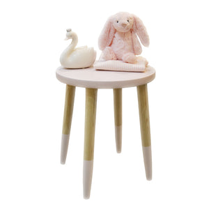 Side Table- Jayden Pink - Side Table- Baby Belle