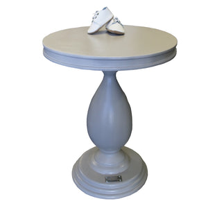 Side Table - Sebastian French Grey - Side Table- Baby Belle