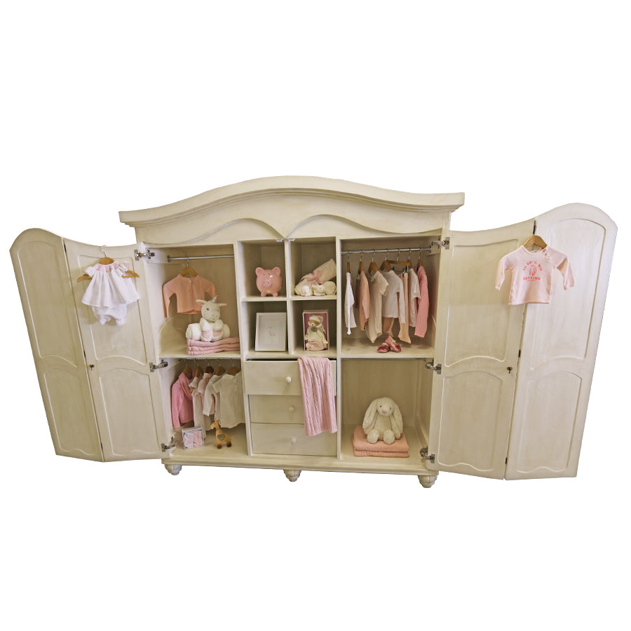 Hand-crafted Georgina Armoire - Armoire- Baby Belle