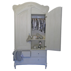 Hand-crafted French Feeling Armoire - Armoire- Baby Belle