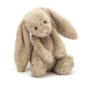 Bashful Beige Bunny - Soft toy- Baby Belle
