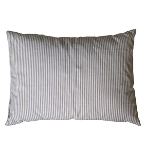 Baby Pillow- Stone Stripe - Cot linen- Baby Belle