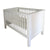 Hand-crafted Castor Cot - Cots- Baby Belle