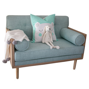 Toddler Couch - Charlotte Bluebird - toddler seating- Baby Belle
