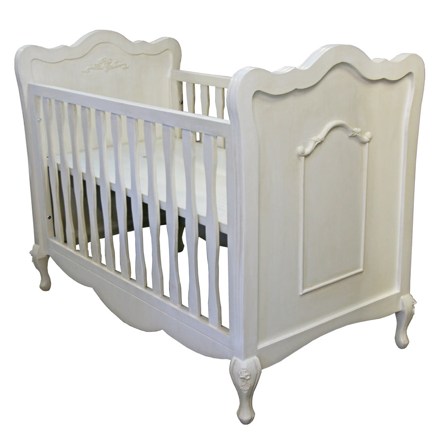 Hand-crafted French Feeling Cot - Cots- Baby Belle
