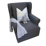 Feeding Chair- Entrée Charcoal - Feeding Chair- Baby Belle