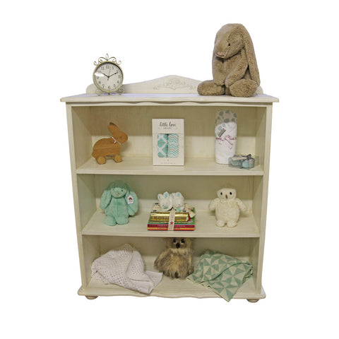 Hand-crafted French Feeling Bookshelf - Bookshelf- Baby Belle