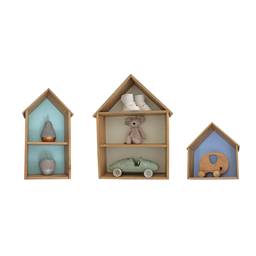 Sebastian Oak Houses - Wallshelf- Baby Belle